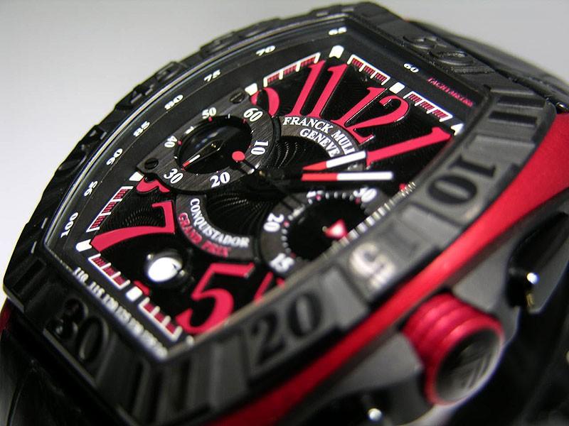 Franck Muller Conquistador Red