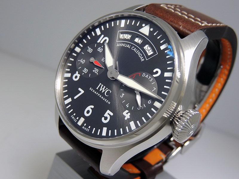 IWC Big Pilot's Watch Annual Calendar Spitfire IW502702 retail $19,000