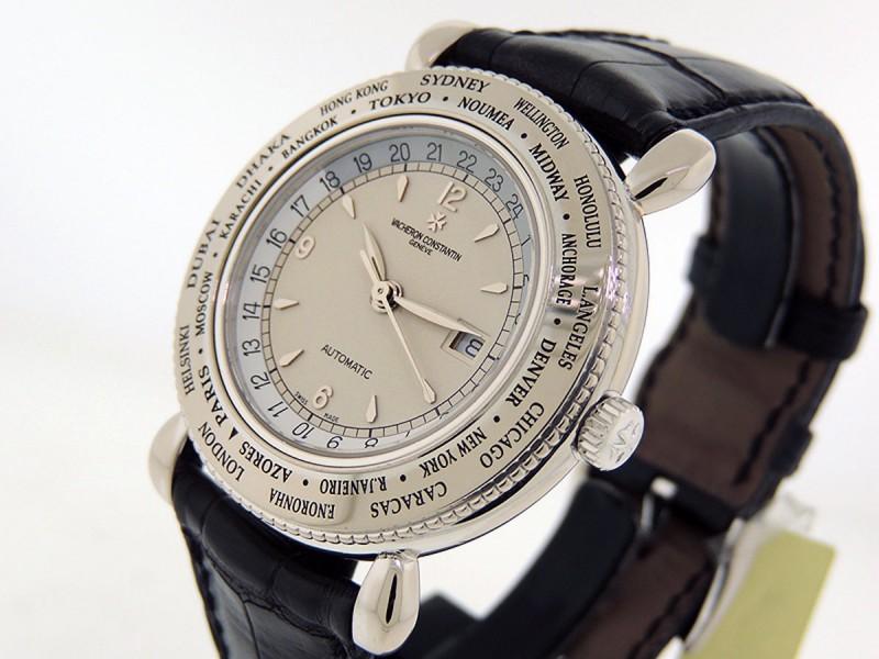 Vacheron Constantin Evasion World Time 18k White Gold 48250/000G-8981 LTD $NOS