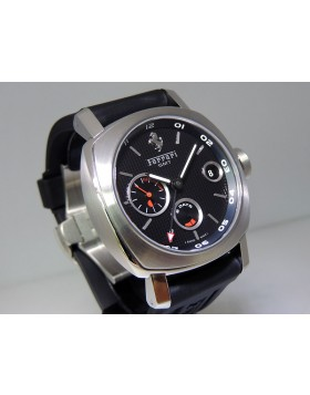 Panerai Ferrari Granturismo 8 Days GMT FER00012 LTD Black Dial Rubber  Strap Retail Price $14,900
