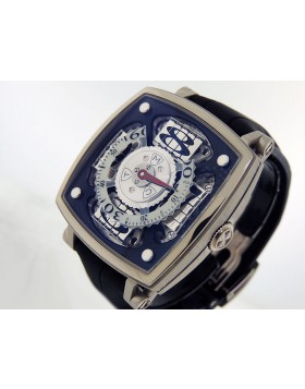 "MCT Sequencial One-S100 SQ 45 S100 WG 01 18k White Gold ""Jumping Sequential Hour"""
