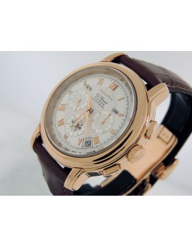 Zenith Grand XT ET Chronomaster El Primero Flyback 18.1250.4009/01.c495 43mm Rose Gold White Dial Automatic Retail $31,500