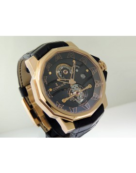 Corum Admiral's Cup Tourbillon 48 Rose Gold Semi Skeleton 372.931.55/0F01.0000
