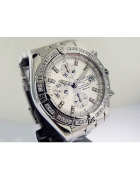 Breitling Chronomat Evolution with Diamonds A13356