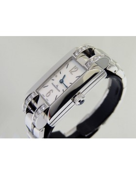 "Jaeger-LeCoultre ""Ideale"" Mother of Pearl Dial Diamonds Classic Style Lady's wrist watch 460.8.86 Retail $7,760.00"