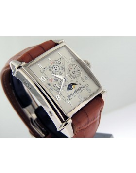 Girard Perregaux Vintage 1945 Quantiemel Calendar King White Gold 90285-53