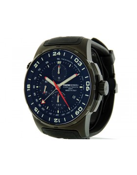 MOMO Design Pilot Chrono GMT Techymetre 46mm MD088BKGMTRB-01BKBK Limited Edition