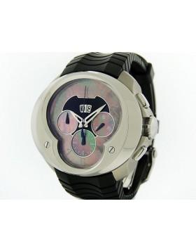 Franc Vila Chronograph Grande Date Silver/MOP FVA8CH