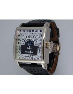 Roger Dubuis Golden Square Tri-Retrograde 18k White Gold 1185F-1130M-63