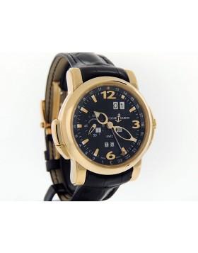 Ulysse Nardin GMT Perpetual 18K Rose Gold 326-60/62 Retail $45,800