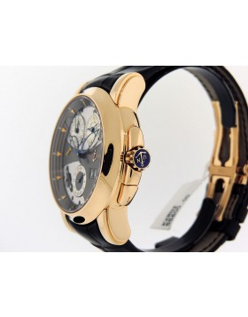 Ulysse Nardin Sonata Cathedral Dual Time Alarm 18k Rose Gold 676-88/212 LTD Retail $55,800