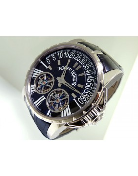 Roger Dubuis Excalibur Double Tourbillon Retrograde Limited Edition WG EX4501N9.671 Retail $273,600