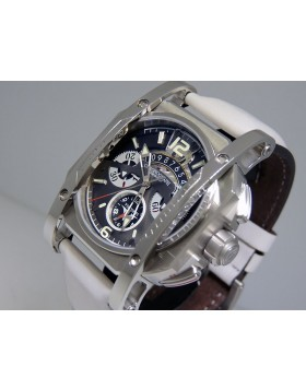 Visconti Silver Shadow 25th Anniversary Chronograph Limited Edition W105-00-124-0612  Retail $5,950