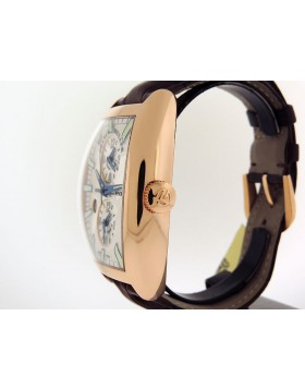 Franck Muller, Cintree Curver Master Banker World Map, 18k Rose Gold, 8880 MB SC DT IND Retail $32,000