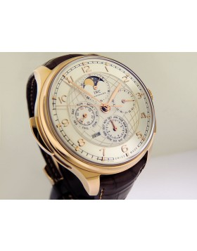 IWC Portuguese Grande Complication Perpetual Calendar 18k Rose Gold IW377402 Silver Dial LTD 45mm Retail Price $246,000