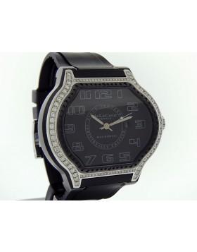 "DeLaCour The City Ego Classic ""Factory"" VVS-1 Diamond Bezel WAST2410-1234"