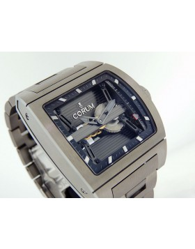 Corum Ti Bridges Power Reserve Titanium case & Bracelet 107.201.04/V250-0000