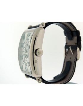 Franck Muller 1200 QP Long Island Quantieme Perpetual Calendar 18k White Gold Retail $50,200
