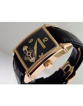 Girard Perregaux Vintage Tourbillon Automatic 18k Rose Gold 9985