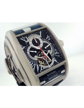 Maitre du Temps Chapter One Tourbillon Titanium & White Gold C1T. T0.2E.12-0