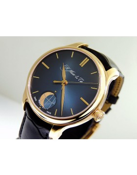 """H. Moser & Co. Endeavour Perpetual Moon Blue """"Fune"""" 348-901-013"""