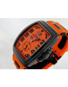 Dubey & Schaldenbrand Buddy One Orange AQSD 48x38mm Limted Edition NEW Retail $7950