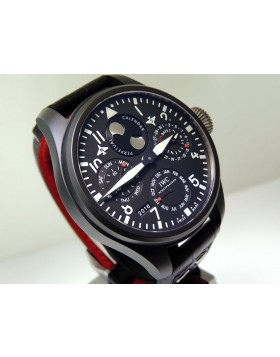 IWC Big Pilot Perpetual Calendar Ceramic Top Gun With Moon Phase IW502902 Retail $36,000