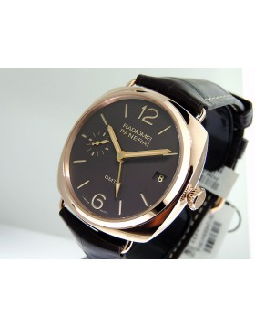 Panerai Radiomir 3 Days GMT PAM 00421 Red Gold