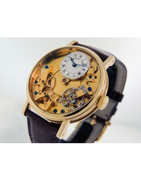 Breguet  La tradition 18k Gold 7027BA/11/9v6 Skeleton Dial  Manual Retail $26,600