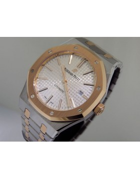 Audemars Piguet Royal Oak Rose Gold and Stainless Steel 15400 SR.00.1220.01