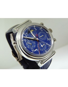 IWC Da Vinci Split Second Perpetual Calendar Moon Phase Platinum