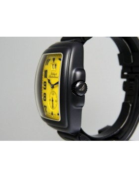 Dubey & Schaldenbrand Buddy One Yellow AQSY 48x38mm Limted Edition NEW Retail $7950