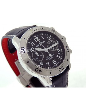 Bell & Ross  Diver 300m Chronograph 500S 41mm Alligator Strap $unknown