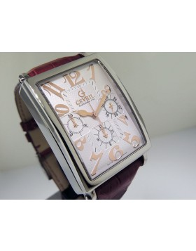 Gevril Avenue of Americas Chronograph White 5010