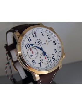 Ulysse Nardin Marine Annual Calendar Chronograph Rose Gold 516-22