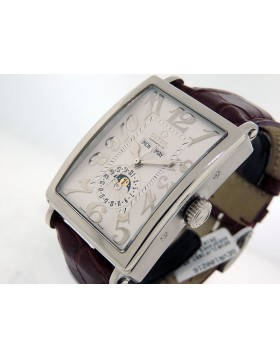 Gevril Annual Calendar Moon Phase, 5030 White Dial Limited Edition Retail $7,495