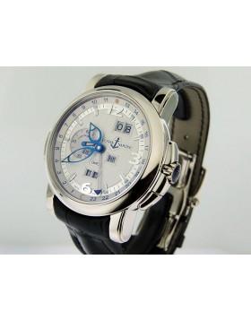 Ulysse Nardin Perpetual GMT 18k White Gold White Dial 320-60/60