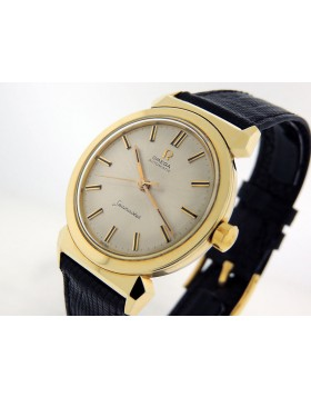Omega Seamaster Vintage Automatic 1956 14k Gold Inte'l Collection