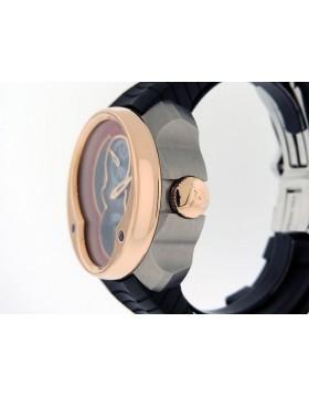 Franc Vila FVa15 Column Regulator Carbon Fiber Red Accent 18k Rose Gold/Titanium Retail $37,500
