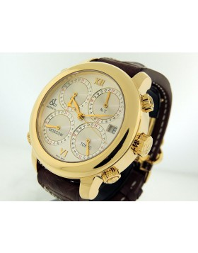 Jacob & Cie H24 5 Time Zone Automatic Yellow Gold
