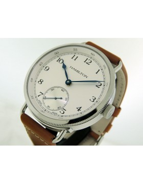Hamilton Khaki Navy Pioneer/Table Limited Edition H78719553 Silver Dial $3,000