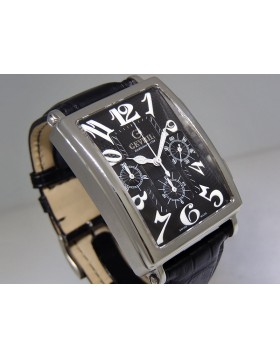 Gevril   Avenue of Americas   Chronograph Black   5012 Retail $4,495   Swiss Watches   ClassWatches