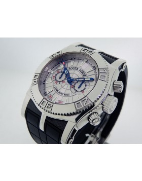 Roger Dubuis Easy Diver Chronograph Lemania SE4656935.3 46mm Retail $25,000