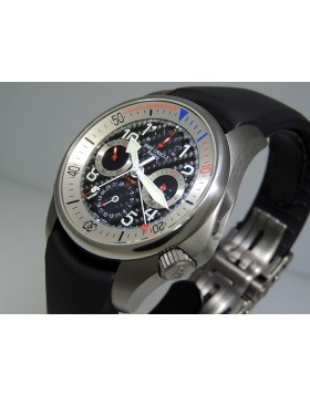 "Girard Perregaux R&D 01 ""Challenger of Records"" USA 87 BMW Oracle 49931-21-613-FK6A Titanium LTD 750 pic Retail  $14,100"