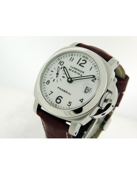 Panerai Luminor Marina Pam0049 White Dial retail $7,600