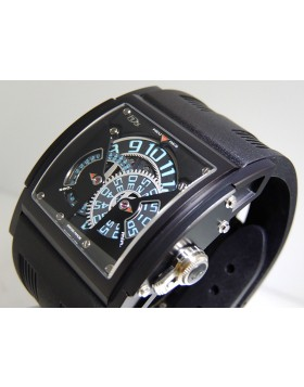 HD3 Complication Three Minds Black Magic ED.Blue Titanium/PVD  Limited 33 piece Edition Retail $56,000
