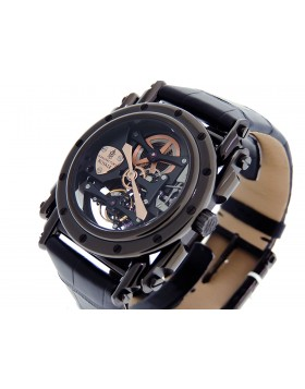 Manufacture Royale Androgyne Tourbillon Full Black/ 18k Rose Gold