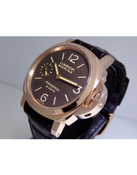 Panerai Luminor Marina 8 Days Oro Rosso 18k Rose Gold PAM00511