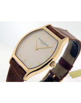 Vacheron Constantin Tonneau 31150/000J-3 18k Gold Vintage 1990s NOS