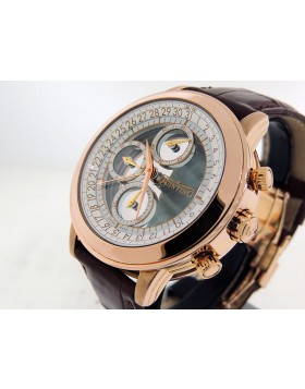 Quinting  Mysterious Chronograph   18k Rose Gold  QRG43 Electro-mechanical Retail $40,000